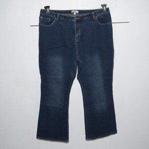 Fashion bug boot womens jeans size 7 R waist 41-42